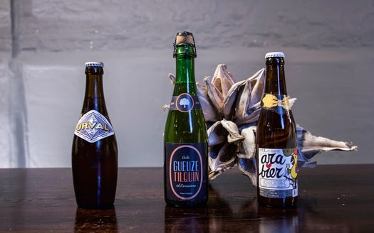 bierrestaurant in antwerpen bierflesjes