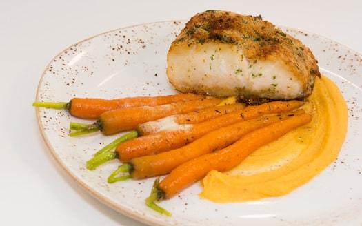wijnrestaurant in antwerpen vis wortel